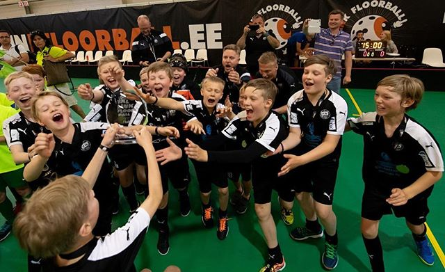 Tallink Junior Floorball Tournament 2018 voitto""